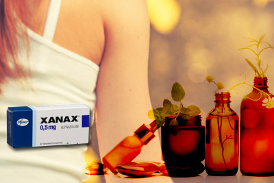 combination of natural remedies with xanax